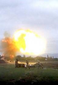 Артиллерия азербайджанских войск обстреляла Степанакерт