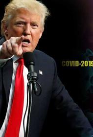 Кашель и температура. Дональд Трамп держится молодцом, но вирус всё-таки – опасная штука