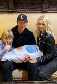 Рудковская и Плющенко рассказали, как назвали своего второго сына, рожденного в сентябре