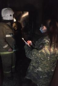 Пять человек погибли при пожаре в квартире в городе Тавда на Урале