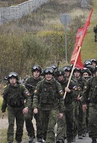 Выпускники кремлевского училища совершат «марш 1941-го года»
