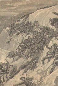 В этот день в 1799 году армия Суворова совершала переход из Глариса в Иланц через заснеженный горный перевал