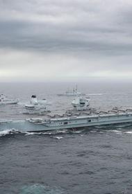 В Северном море начались военно-морские учения НАТО Joint Warrior