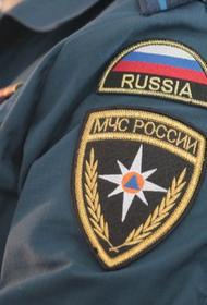 Опубликовано видео пожара в санатории Минобороны в Крыму
