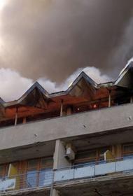 Комиссия ЧФ выясняет причину пожара одного из корпусов ФГБУ «Военный санаторий Ялта»
