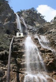В Крыму пересох самый большой водопад