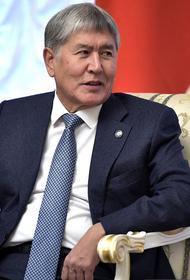 Стрелявший по автомобилю экс-президента Киргизии Атамбаева попал на видео