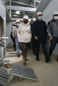 Алексей Текслер выехал на площадку новой инфекционной больницы