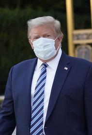 Трамп сообщил, что из-за COVID-19 ощущал слабость и усталость