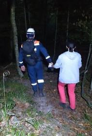 В лесу под Сочи заблудилась москвичка
