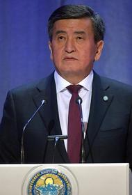 В Киргизии начались переговоры об отставке президента Сооронбая Жээнбекова