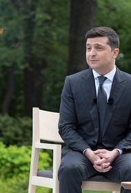Большинство опрошенных граждан Украины считают, что Зеленский не выполняет свои обещания