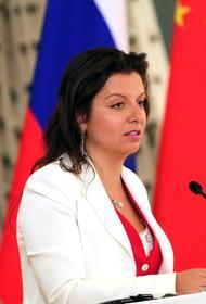 Симоньян высмеяла Евросоюз за введение санкций из-за Навального: «Забористо там у них»
