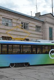 Уникальный трамвай для Саратова, который на церемонии запуска задымился прямо с губернатором в салоне