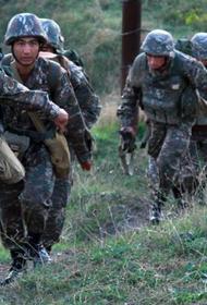 Баку сообщает о контрнаступлении армянской армии на юге НКР
