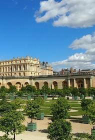 В Версале поймали «короля» в простыне