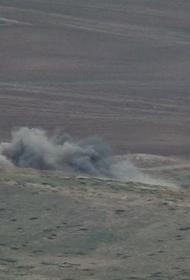 Окрестности Степанакерта сотряс сильный взрыв