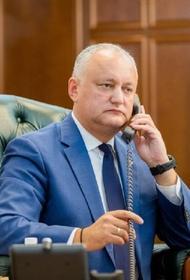 Додон заявил о возможном благоприятном решении приднестровского вопроса