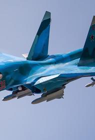 Су-34 разбился в Хабаровском крае