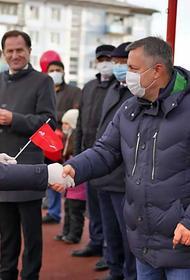 В ходе поездки в Тулун губернатор  Приангарья Игорь Кобзев вручил ключи от квартир новосёлам