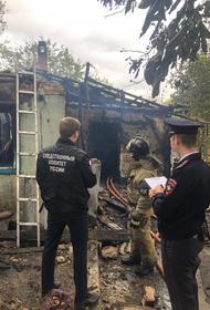 При пожаре в частном доме в Армавире погиб пенсионер