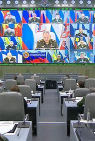 Ситуация с коронавирусом в Вооружённых силах РФ полностью контролируется
