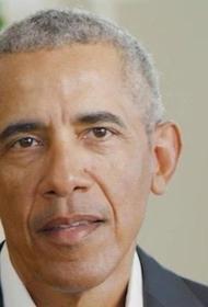 Трамп не считает поддержку Байдена Обамой поводом для беспокойства