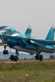 Avia.pro: российский Су-24 уничтожил в Сирии джихадистов, планировавших попасть в Карабах