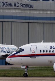 У приземлившегося в Шереметьево SSJ-100 сработал датчик неисправности шасси