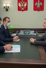 Юрий Бурлачко и Василий Воробьев обсудили тему привлечения инвестиций в регион