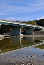 В Краснодарском крае заново отстроили разрушенный наводнением мост
