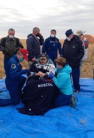 Российские спасатели ЦВО вернулись из Казахстана после обеспечения посадки «Союза МС-16»