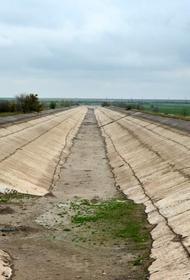 Украина не будет подавать воду в Крым и не собирается об  этом договариваться