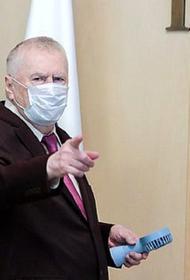 Жириновский призвал запретить распространять в СМИ мнения, что маски не нужны или бесполезны