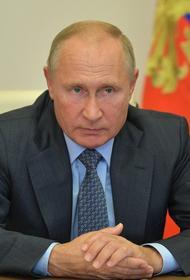 Путин отказался комментировать заявление Трампа о деньгах Байдена «из России»