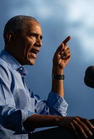 Обама считает, что ответственность за рост числа заражений COVID-19 в США лежит на Трампе