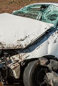 В Ульяновской области автомобиль залетел под грузовик, водитель погиб