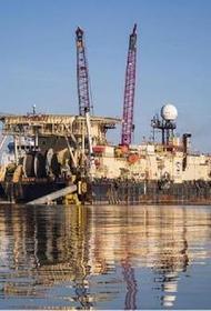 Трубоукладчик «Академик Черский» вышел из порта Калининграда и следует на северо-запад