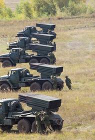 Под Оренбургом прошли учения артиллеристов и ракетчиков