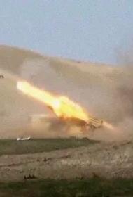 Азербайджанские военные обстреливают территорию Армении