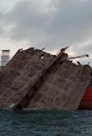 При осмотре взорвавшегося в Азовском море танкера обнаружили тела погибших