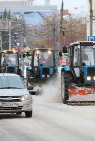 Более ста единиц техники выведено на дороги Челябинска