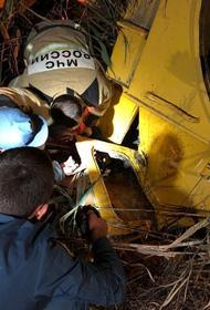 Спасатели вытащили человека из перевёрнутого трактора в Адыгее