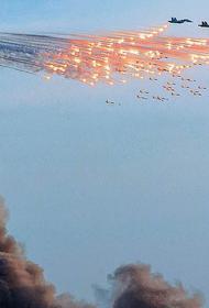 Авиация ВКС РФ обрушила лавину огня на головы исламистов в центральной части Сирии