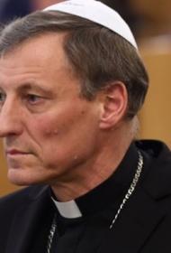 Митрополит Римско-католической церкви: Правовые отношения между однополыми парами должны регулироваться
