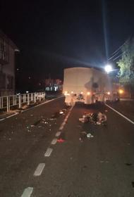 На Кубани от столкновения с КамАЗом погиб водитель скутера