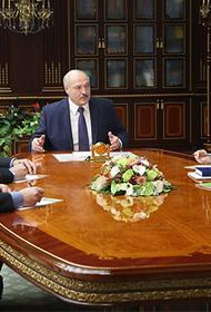 Лукашенко поручил закрыть госграницу для обеспечения безопасности Белоруссии