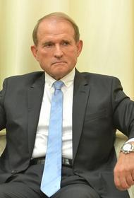 Медведчук заявил о высоком результате своей партии на местных выборах на Украине