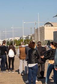 Северная столица Греции в ожидании lockdown