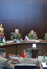 В Самарканде состоялось заседание Комитета начальников Генштабов ВС СНГ